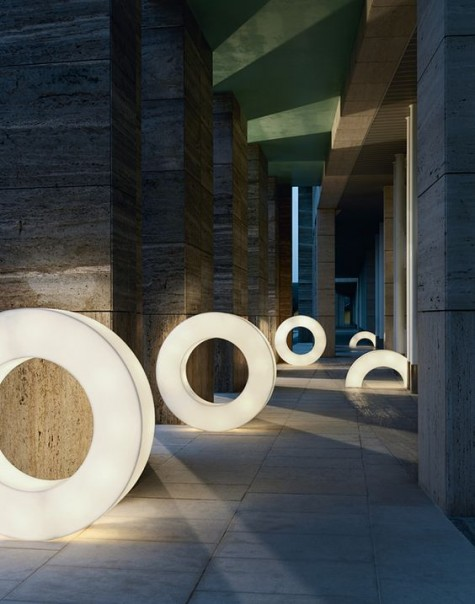 Atoolo LED-Lampen in Form von Donuts