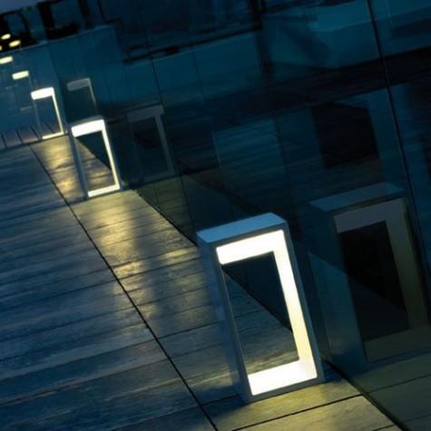 gerahmte Stehlampen für den Außenbereich