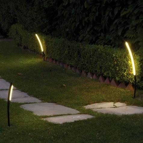 Totem Stehlampen LED für Gärten