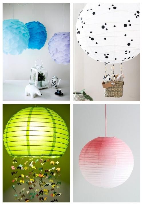 20 coole Möglichkeiten, IKEA Regolit Lampshades zu hacken