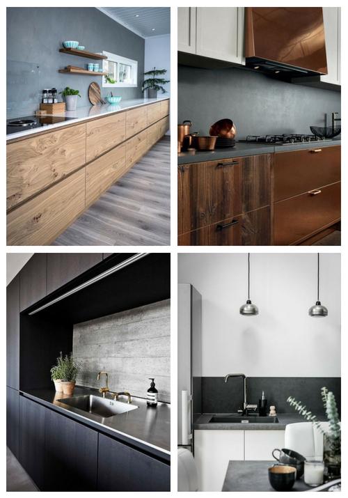 23 Concrete Kitchen Backsplashes mit Vor- und Nachteilen