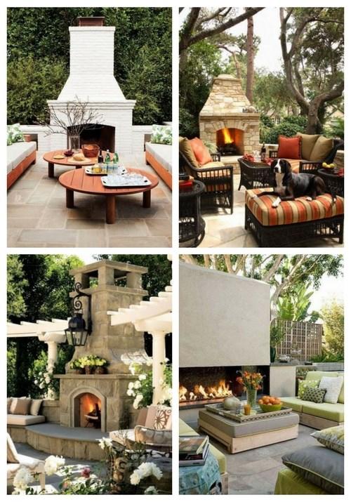 34 Inspirierende Außenkamine für Ihre Terrasse oder Ihren Garten