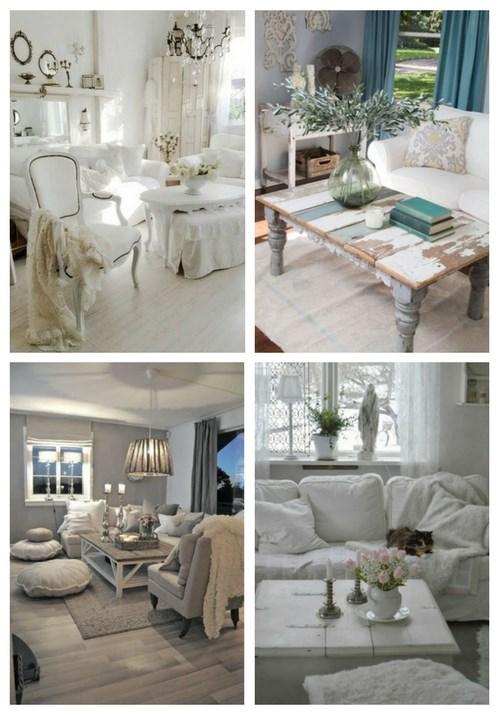 38 charmante Shabby Chic Wohnzimmer Designs