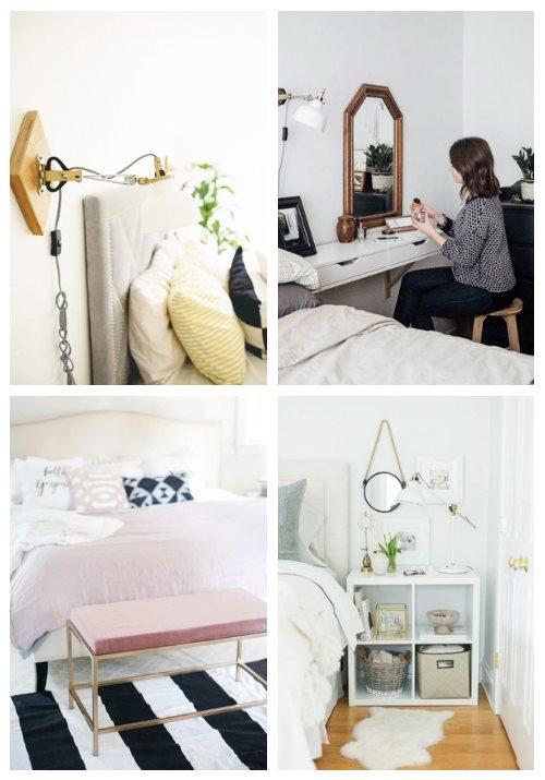 44 Genius IKEA Bedroom Hacks, die Sie lieben werden