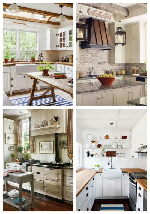 57 niedliche Bauernhaus-Küchen-Entwürfe, zum sich inspirieren zu lassen