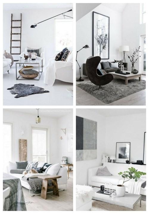 70 gemütliche skandinavische Wohnzimmer Designs