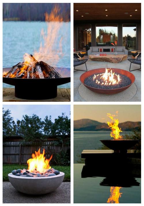 Atmosphäre schaffen: 45 markante Feuerschalen im Freien